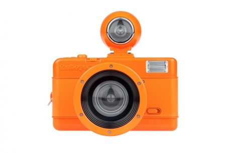 Fisheye No. 2 Vibrant Orange